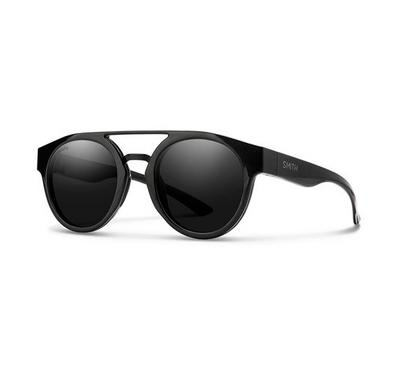Smith Ladies Black Sunglasses With Plastic Grey Cp Lens