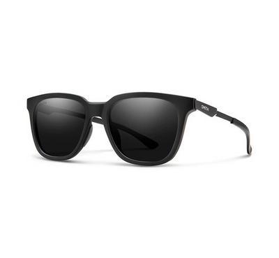 سميث نظارة شمسية للجنسين، أسود، عدسات بلاستيك رمادي