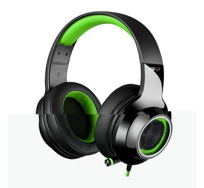 Edifier G4 wired Gaming headset, Green