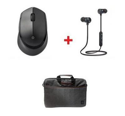 Xcell Wireless Mouse plus Laptop Bag and Bluetooth Headset