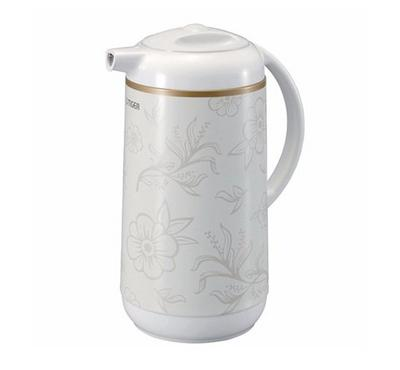 Tiger 1.0L Thermos Jug Flask Floral White