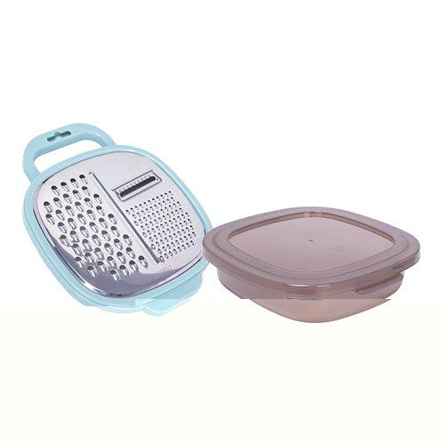 Alberto Stainless Steel Graters Set With Food Container