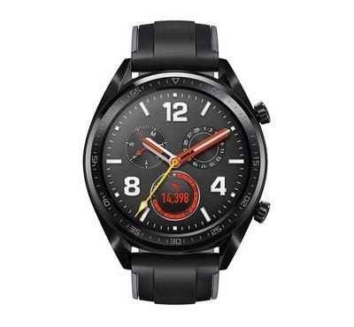 هواوي جي تي، ساعة ذكية، ستاينلس ستيل أسود
