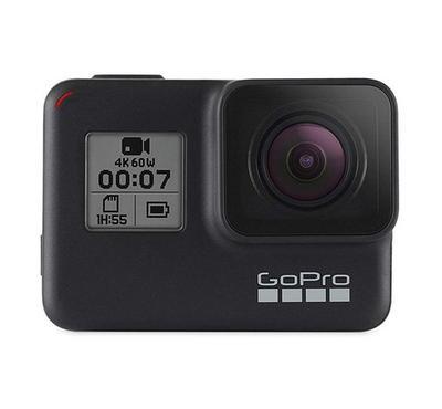 GO PRO Hero 7, 12 megapixels, WiFi, Bluetooth, 4K video, 2 inch LCD touchscreen, Black