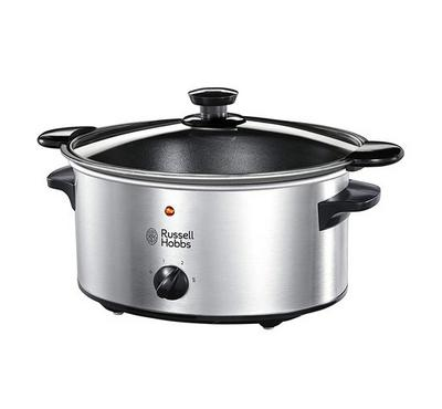 Russell Hobbs 3.5L Slow Cooker With Searing Pot Stainless
