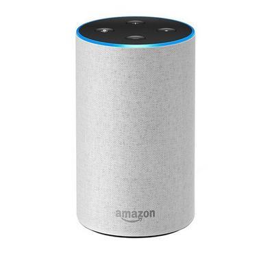 أمازون ايكو سماعة ذكية لاسلكية الجيل 2، لون حجر رملي