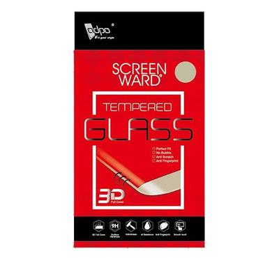 Adpo 3D Tempered Glass Screen Protector for Nokia 3.1 (3D Black)