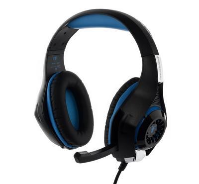 بي إكسيلينت سماعة العاب مع مايك لجهاز بلاي ستيشن 4 - أسود وأزرق