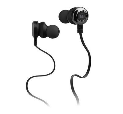 Monster CLARITYHD MH-CLY-IE-BK-CU-WW Mobile Earphone Black