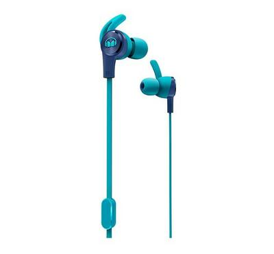 Monster iSPORT ACHIEVE Sport Mobile Earphone With Mic Blue