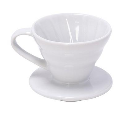 Accessories Coffee Dripper Ceramic White