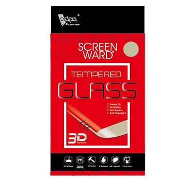 Adpo 3D Tempered Glass Screen Protector for Nokia 6.1 (3D Black)
