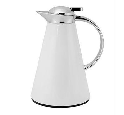 Sahara 1L Steel Vacuum Flask White Color