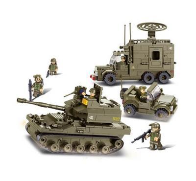 سلوبان، قطع تركيب دبابة قوات برية جيش 578 قطعة