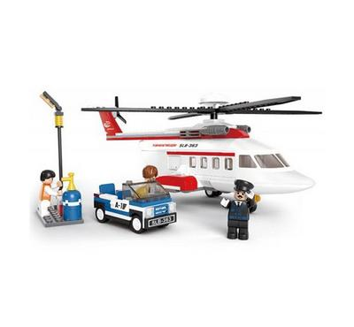 Sluban Aviation H Personal Helicopter (259 Pcs)