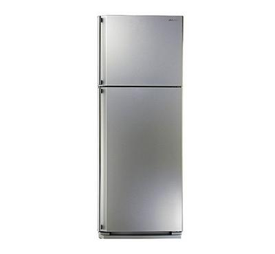 Sharp Fridge, 545.0L, Top Mount Freezer,Net Capacity 437L, Silver