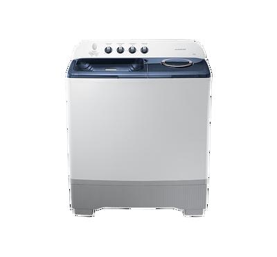 Samsung Twin Tub 15kg Semi-Automatic Washing Machine White/Grey