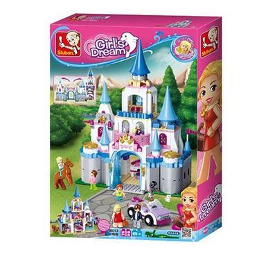 Sluban Girl's Dream Sapphire Castle (815 Pcs)