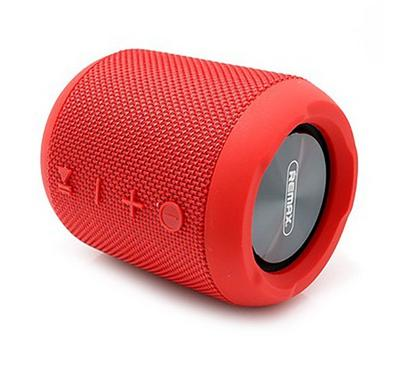 Remax Portable Fabric Bluetooth Water Proof Speaker, Red