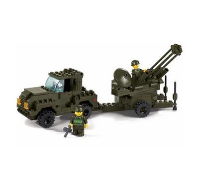 Sluban Army Anti-Aircraft Gun (221 Pcs)