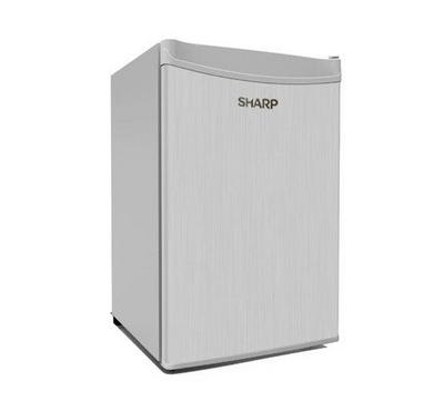 Sharp Mini Bar 125 L Refrigerator Silver
