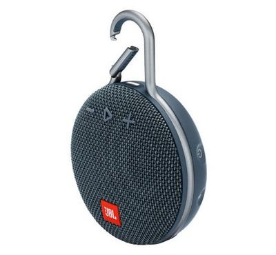 JBL Clip 3 Wireless and Bluetooth Speaker, Blue