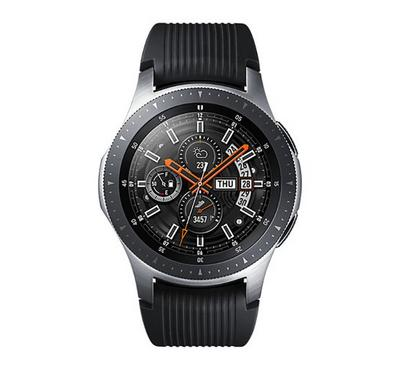 Samsung GALAXY WATCH 46mm Smart Watch Rubber Strap Silver