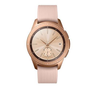 Samsung GALAXY WATCH 42mm Smart Watch Rubber Strap Rose Gold