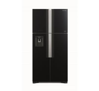 Hitachi Fridge, BIG FRENCH 586L, French Door, Inverter, Black