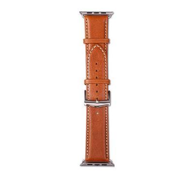 dbramante1928 Copenhagen Watch Strap 42/44mm, Tan/Silver