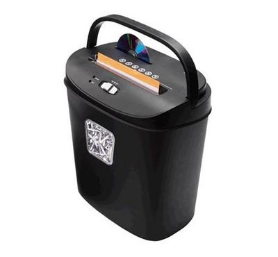 Ednet X8-CD 18L 8A4 Cross Cut Paper Shredder Black