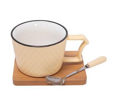 Ceramic Mug 2Pcsbamboo