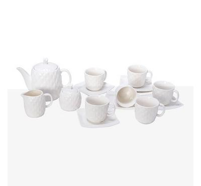 لاميسا، طقم شاي 15 قطعة بورسلين