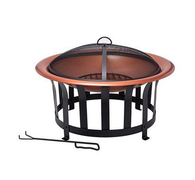 "30""Faux Copper Firepit"