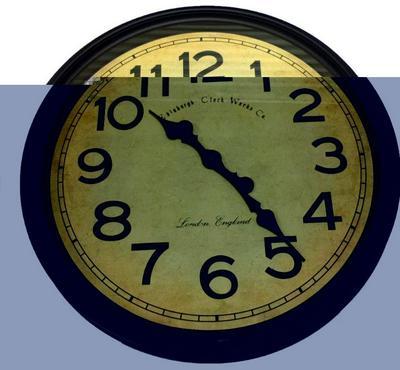 Qumex Assorted Designer 50CM Round Wall Clocks