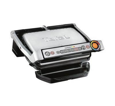 Tefal Optigrill 2000W, 6 Cooking Programs, 4 Temperature Settings,Stainless Steel