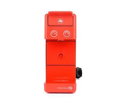 آلإيلي، آلة صنع القهوة الاسبريسو كبسولات، 850 واط، أحمر