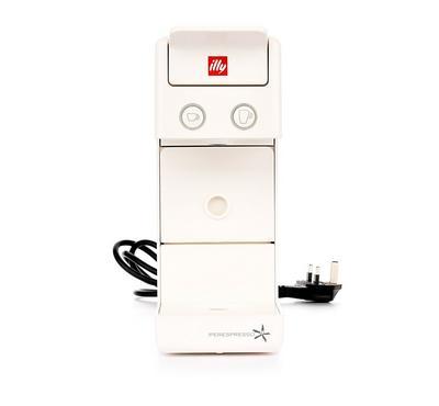Illy, Capsule Espresso and Coffee Maker, 850Watt, 19 Bar Pump, White