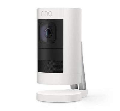 رينج كاميرا مراقبة سلكية، أبيض