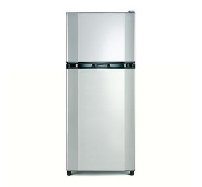 Hitachi, Fridge Top Mount Freezer, 240.0L, Line Mettalic Silver