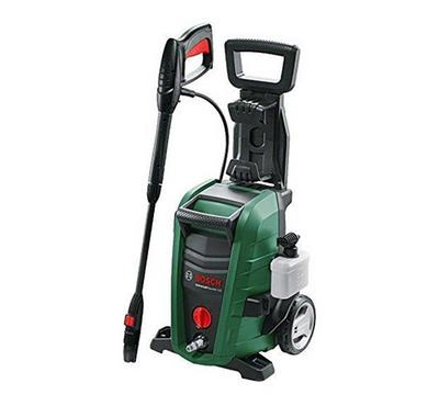 Bosch ,Aquatek 135 bar, 1900 watts high pressure washer, with 3 in 1 nozzle, Green