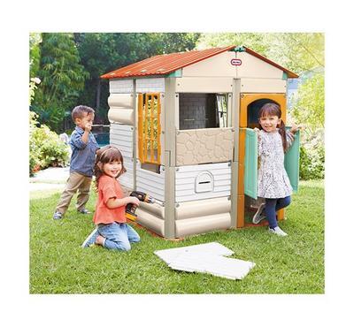 ليتل تايكس، بناء منزل