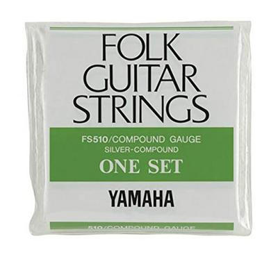 Yamaha FS-510 Folk Guitar Strings Compound Gauge 1 Set