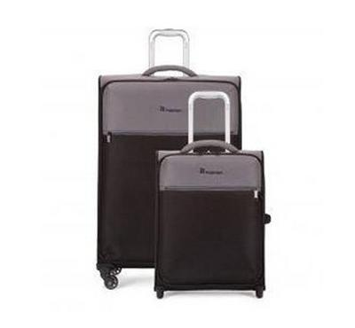 IT, soft Luggage 2 PCS Trolley suit case set 66 and 45CM, GREY