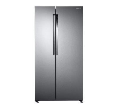 Samsung Side by Side Refrigerator, 21.9 Cu.ft, Digital Inverter Technology, Steel