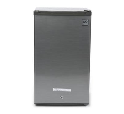 ClassPro Single Door Small Refrigerator, 3.2 Cu.ft, Silver