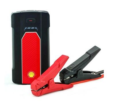 Shell Multifunction 2.4 Amp Vehicle 12Jump Starter and USB Device Charger, 7000mAh