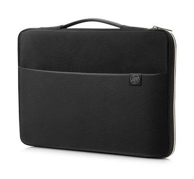 HP 14 inch Carry Sleeve, Black/Gold