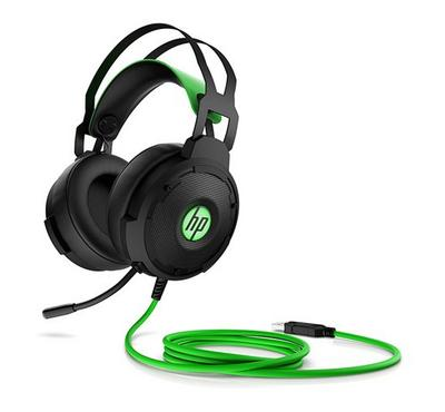 HP Pavilion Gaming 600 Headset, Black/Green