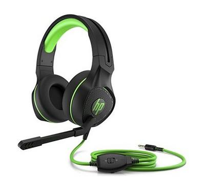 HP Pavilion Gaming 400 Headset, Black/Green